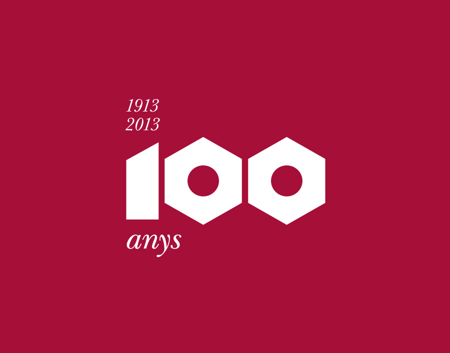 Conceptualització i disseny gràfic de llibre de commemoració de 100 anys de la Ferreteria Aspa