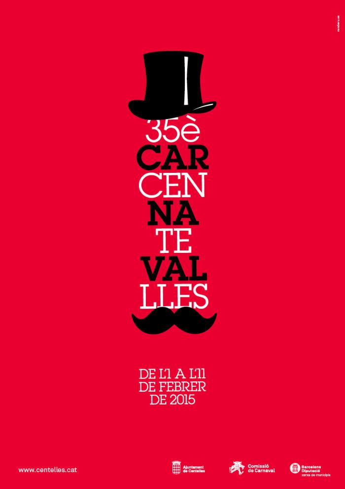 Cartell del Carnaval de Centelles 2015